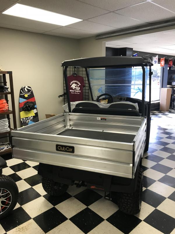 2018 Club Car CarryAll 550 Gas Utility Side-by-Side (UTV) White