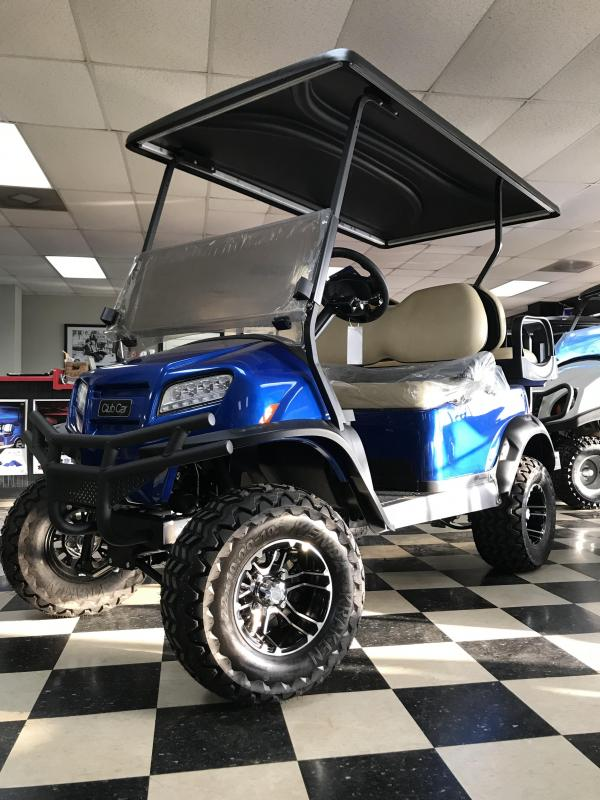 2018 New Club Car Onward Electric Golf Cart Blue