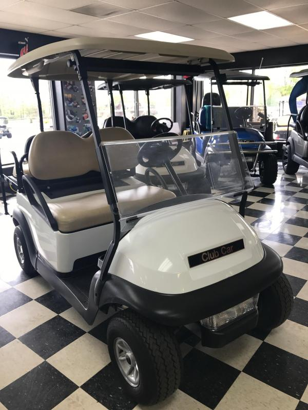 2014 Pre-Owned Precedent - Club Car - Electric - White