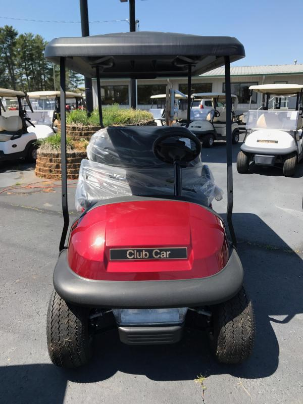 2017 New Villager 4 - Club Car - Gas - Red
