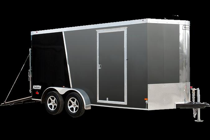 2017 Haulmark TSTV7X12WT2 Enclosed Cargo Trailer