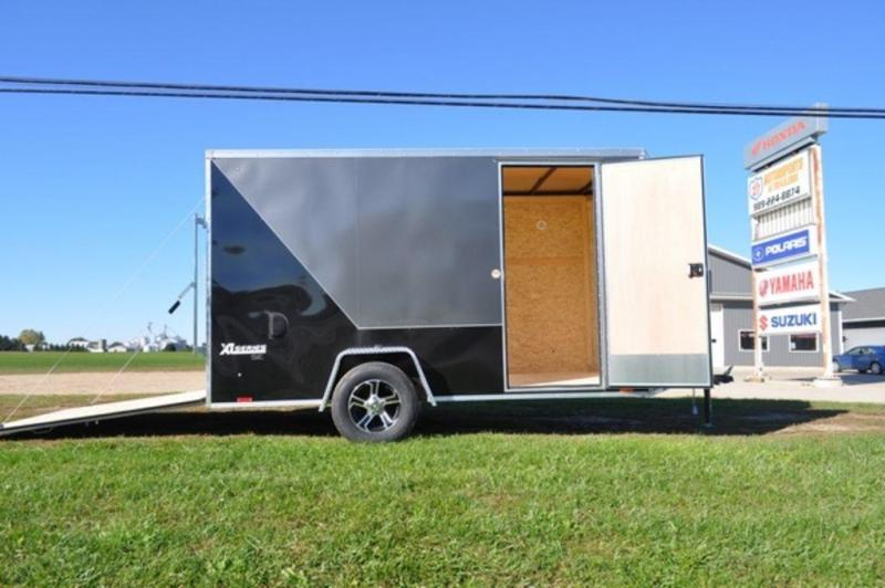 2018 Cargo Express 6 x 12 Enclosed Two Tone Cargo Trailer