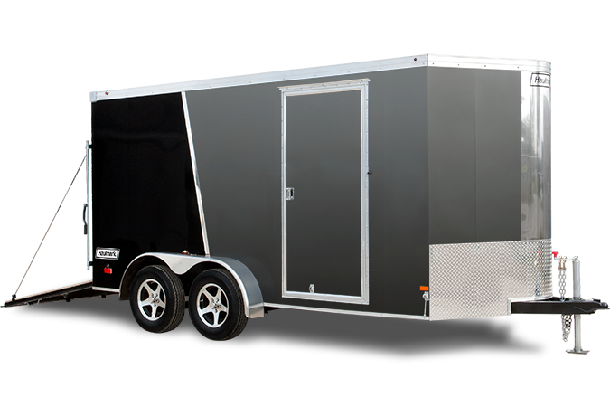 2017 Haulmark TSTV7X12WS2 Enclosed Cargo Trailer