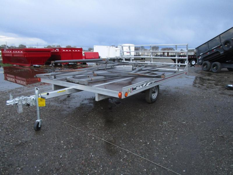 Floe -2.2K- 8x12 Tilt Snowmobile Trailer SALE