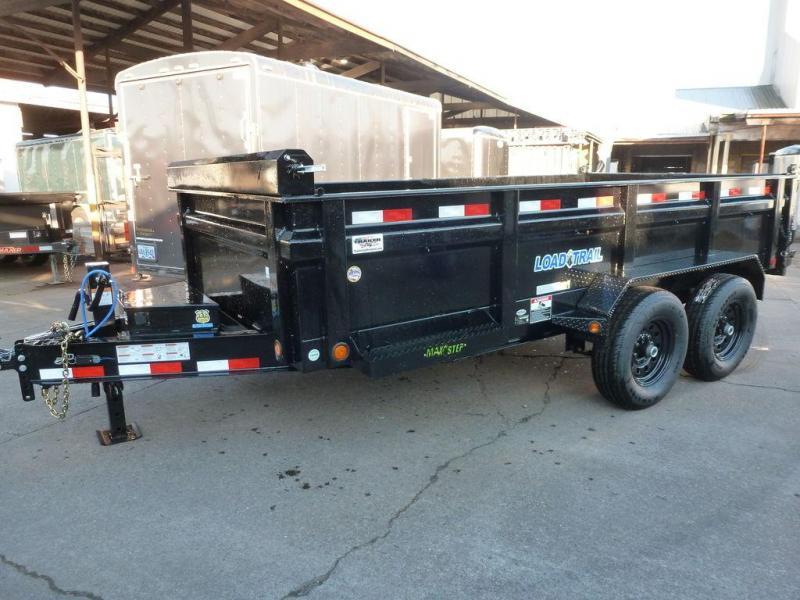 Load Trail 7 X 14 14K W/ RAMPS AND TARPS