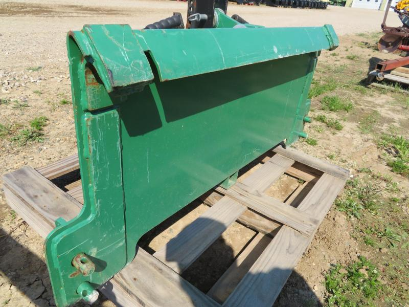 Quick Tach plate and Quick Hitch for JD 400/500 Loader