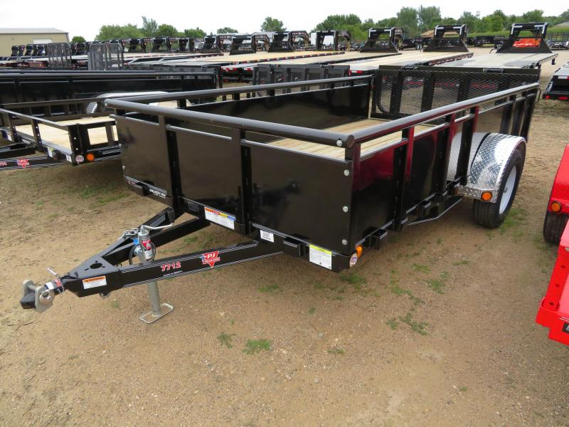 2020 PJ Trailers 12 Solid Side Utility Trailer
