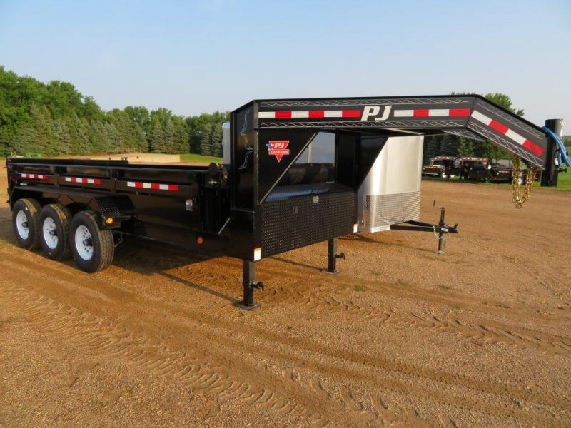 2019 PJ Trailers 16 GN Triple Axle Dump Trailer