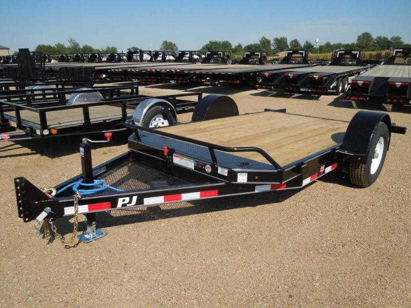 2019 PJ Trailers 13 Tilt Equipment Trailer
