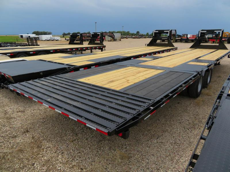 2020 PJ Trailers 34 Low Profile Hydraulic Tail GN
