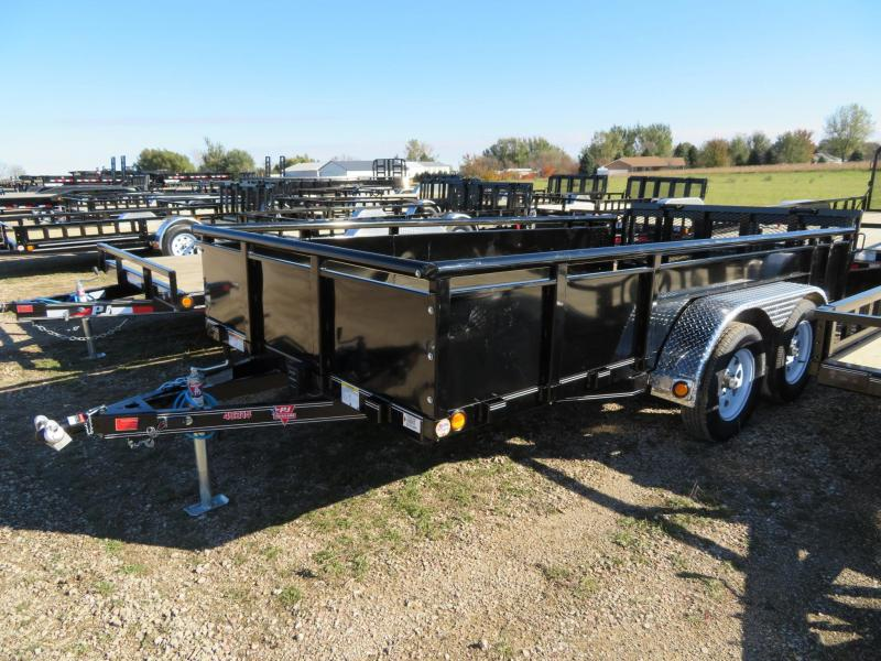 2019 PJ Trailers 14 Solid Side Utility Trailer