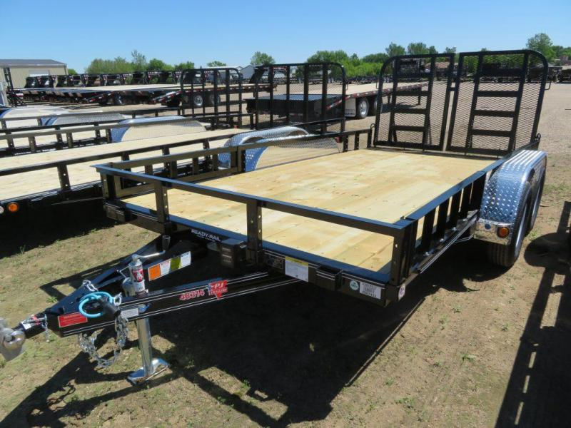 2020 PJ Trailers 14 Tandem Axle ATV Utility Trailer