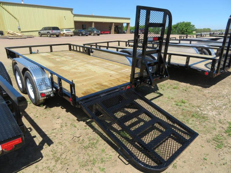 2020 PJ Trailers 14 Tandem Axle ATV Utility Trailer