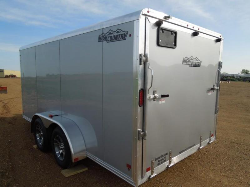 New 2018 High Country 7 x 14 Enclosed Cargo Motorcycle Trailer
