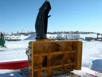 "New Lorenz 430 48"" Snow blower"