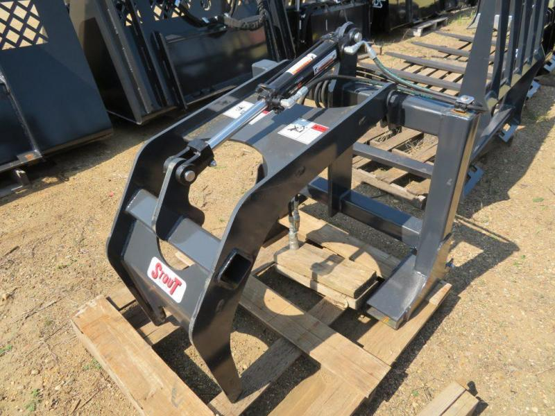 New Stout Pallet Fork Skid Steer Grapple Fork