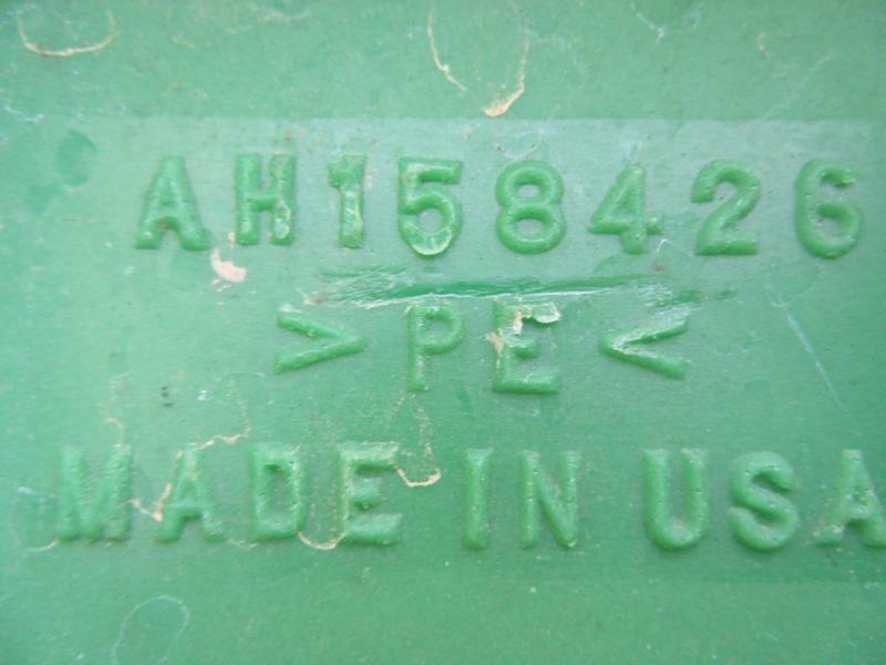 Used John Deere Plastic Cornhead Snouts