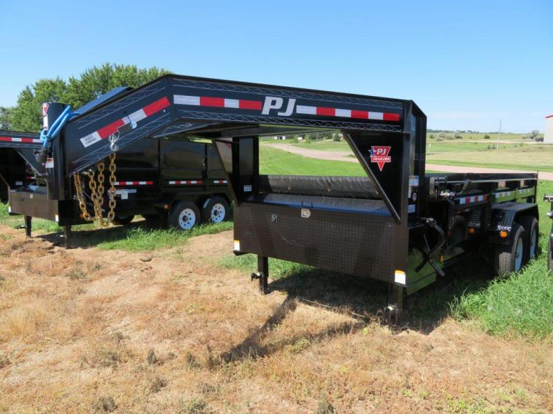 2019 PJ Trailers 14 Low Profile GN Dump Trailer