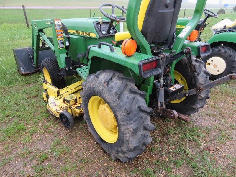 1997 John Deere 855 Compact Loader Tractor