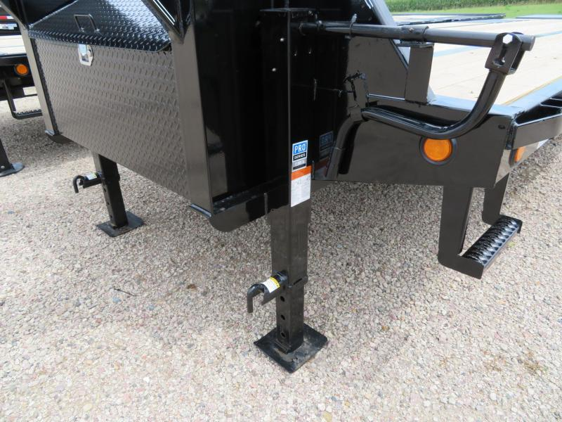 2020 PJ Trailers 32 Low Profile GN Power Tail Trailer
