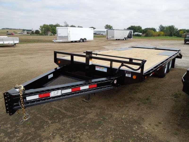 2020 PJ Trailers 20 Low Profile Deckover Trailer