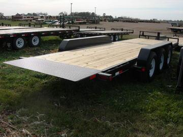 2020 PJ Trailers 24 HD Tiltbed Equipment Trailer