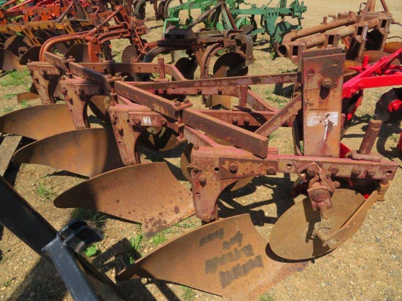 Used International Harvester 4 Bottom Plow - 3 Point
