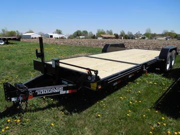 New 2018 Titan 22 Tilt Equipment Trailer