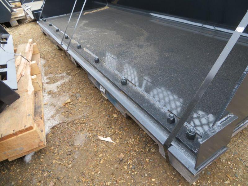 "New Jenkins 96"" Skid Steer High Capacity Snow & Mulch Bucket"