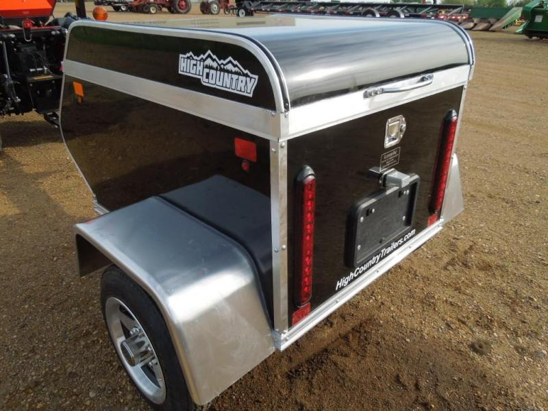 New 2018 High Country 3 x 4 Enclosed Cargo Travel Trailer