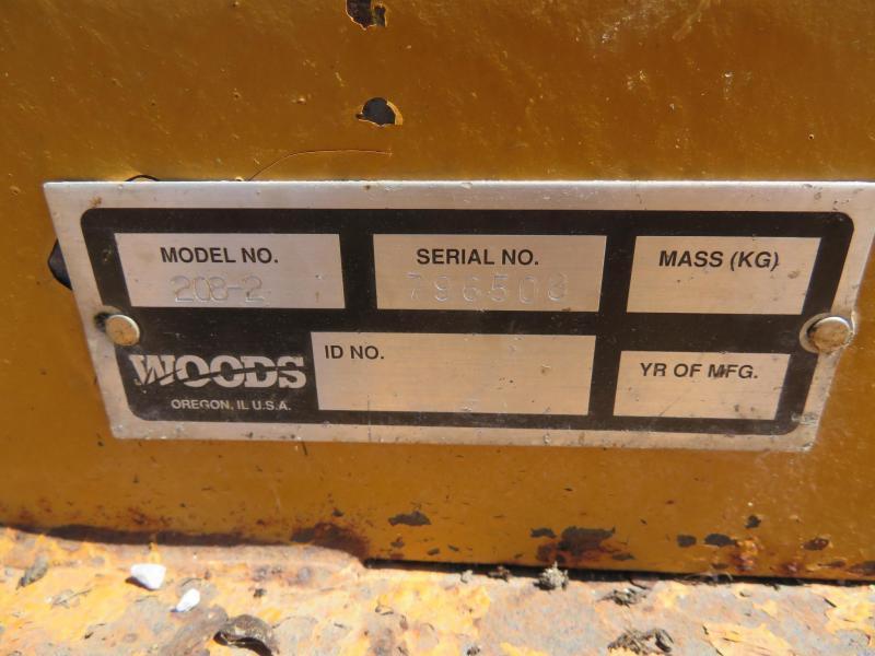 Used Woods 208 8' Rotary Mower