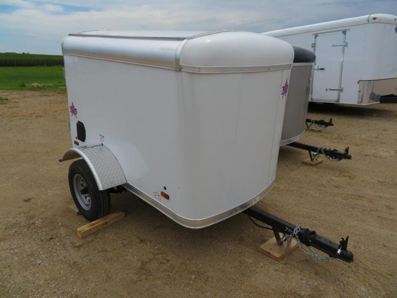 2020 US Cargo 4 x 6 Enclosed Cargo Trailer
