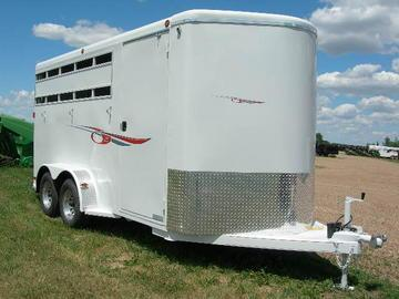 2018 Titan 3H BP Horse Trailer