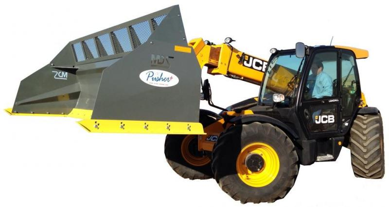 MDS - Snow Pusher for Loader