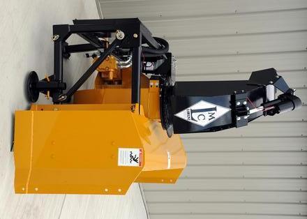 """New Lorenz 8410 84"""" Skid Steer Snow blower"""