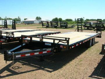 2020 PJ Trailers 24 Low Profile Deckover Trailer