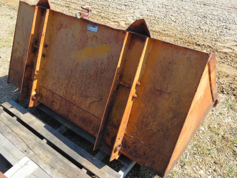 "Case 1830 60"" Skid Steer Bucket"