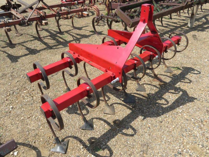 Used Red 6.5' 3 Point Field Cultivator - Danish Tines