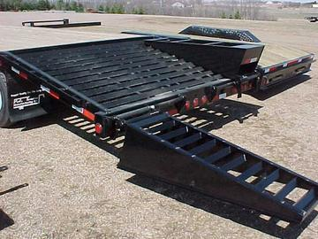 2019 PJ Trailers 26 Pintle with Duals Equipment Trailer