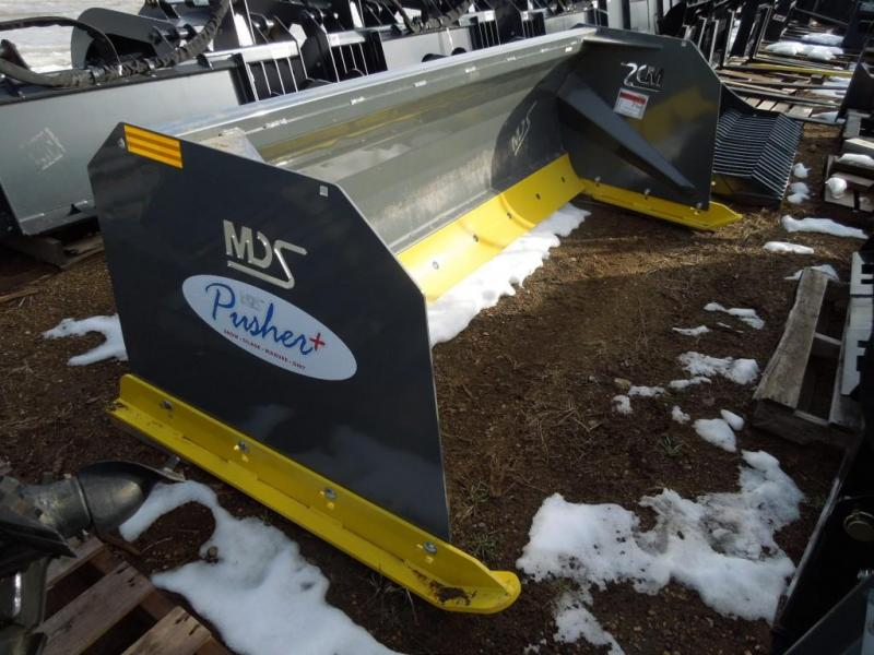 MDS 8' Skid Steer Snow Pusher