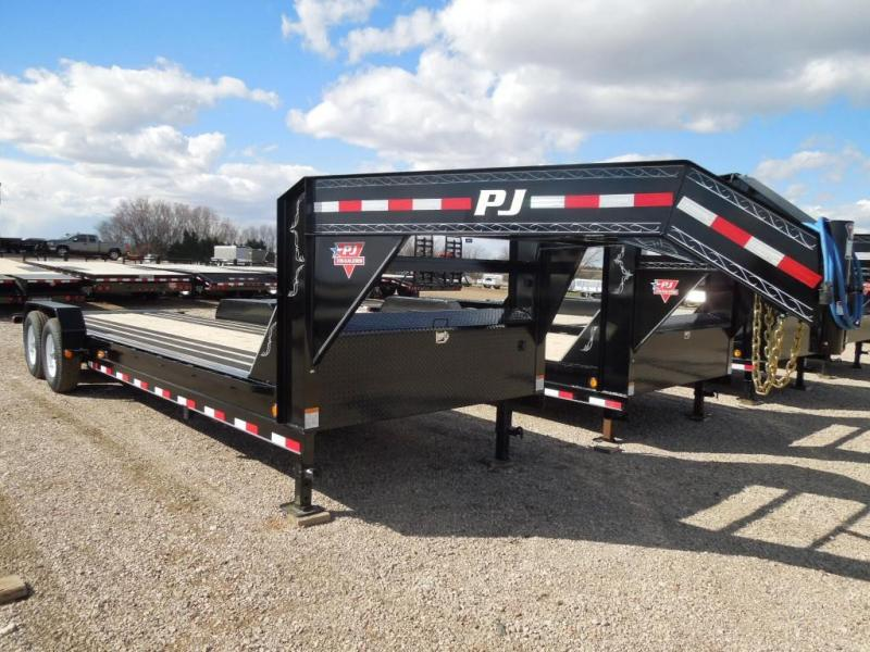 2019 PJ Trailers 24 HD GN Equipment Trailer