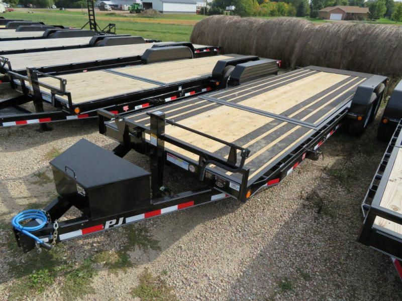 2019 PJ Trailers 22 HD Tiltbed Equipment Trailer