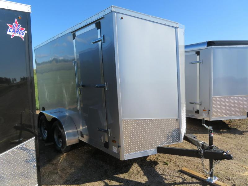2020 Forest River 6 x 12 Enclosed Cargo Trailer