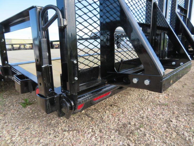2019 PJ Trailers 18 Tandem Axle ATV Utility Trailer