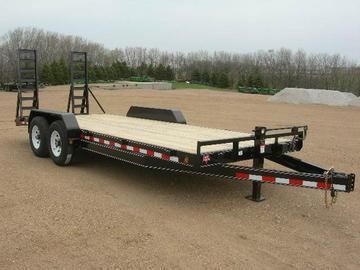 2020 PJ Trailers 20 Equipment Trailer