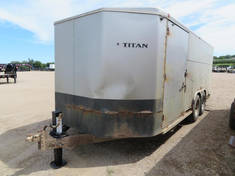 2011 Titan Trailers 18 Enclosed Cargo Trailer
