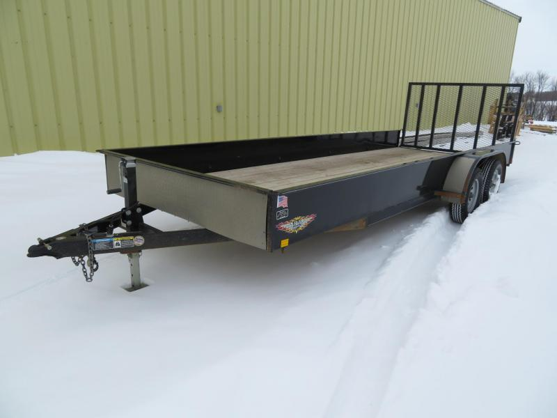 Used H and H Trailer 20 Utility Trailer