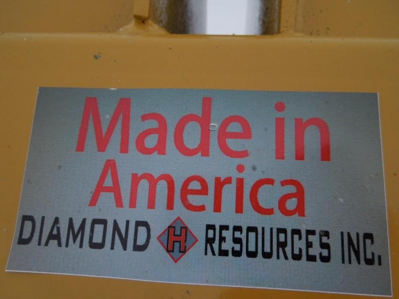 Diamond H Resources 9' 3 Point Blade