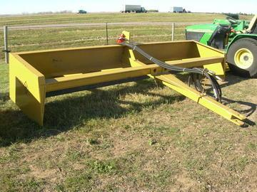 Diamond H Resources 12' Tilting Pulltype Boxscraper w/cylinders