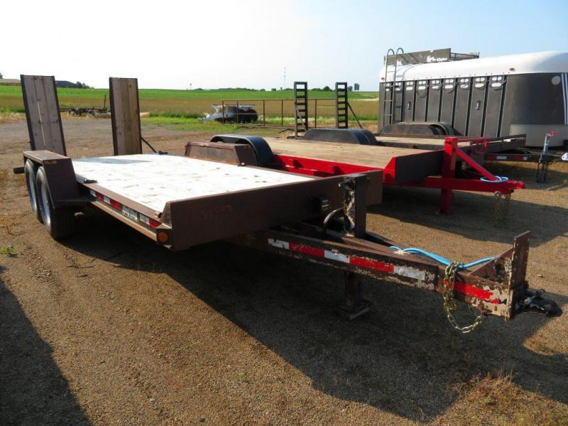 Used 2003 Redi-Haul 18 Equipment Trailer
